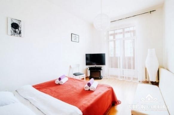 Комната на сутки на Козлова - спальня