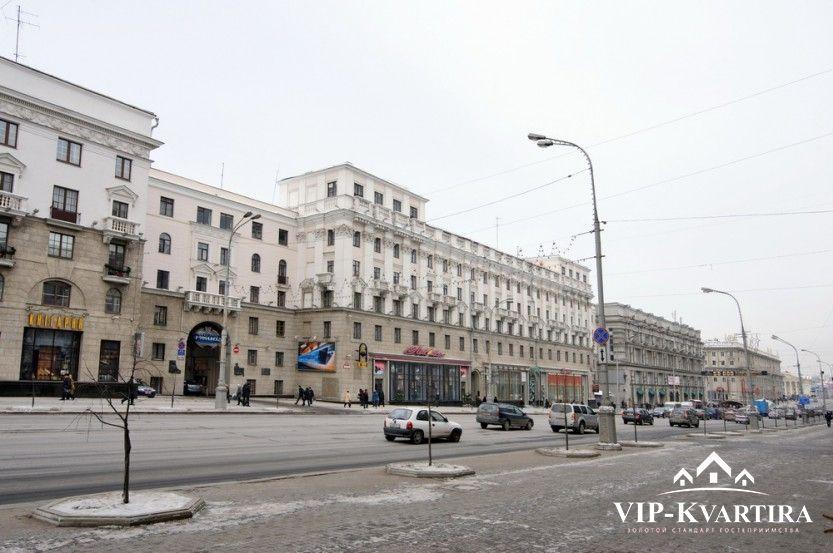 Апартаменты Независимости, 19 (75) на сутки в Минске
